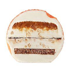 Ice Moon For Häagen Dazs | Carmelo salado y la vainilla, una cama de cereales de chocolate crujiente y caramelizado nueces de pacana.