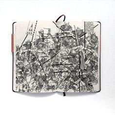 Jared Muralt's Sketch Book 2011-12 publication on Behance
