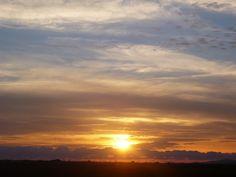 Sonnenuntergang bei Grosseto