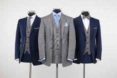 The right hand suit from jackbunneys - tailored by The Cloak Room