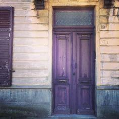 Paarse deur. (242/365) #kortrijk