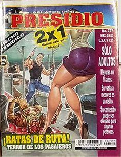 "Mexican True Crime Comic Series ""Relatos de Presidio"" #727 - ""Ratas de Ruta"" by Editorial Toukan http://www.amazon.com/dp/B00LZ89BII/ref=cm_sw_r_pi_dp_VprEvb0H5M09W"