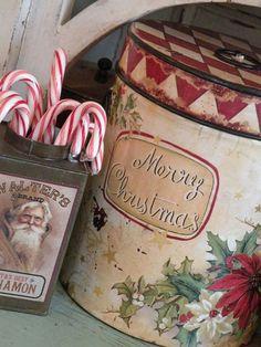 Christmas Tins ~