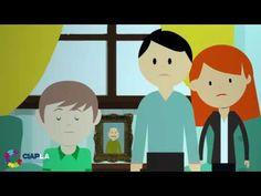 Cómo se sienten los niños ante  la muerte por Psicólogos de niños - YouTube