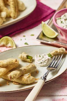 Suchst du nach einer besonderen Rezeptidee für grünen Spargel? Dann probiere den Orientalischen Knusperspargel mit frischem Joghurt-Minze-Dip.