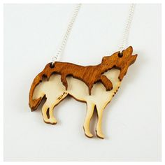 Wolf & Moon wolf necklace -- my ridiculously awesome boyfriend got this for me!! :)