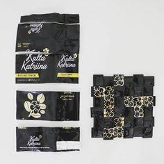 Kulta, Coffee Bags, Recycling, Instagram, Plastic Bottle Crafts, Coffee Sacks, Coffee Sachets, Upcycle