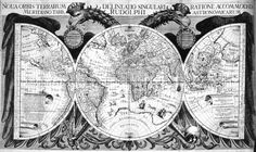 "World map in: ""Tabulae Rudolphinae : quibus astronomicae ...."" by Johannes Kepler, 1627. Source: NOAA Love #antique, #retro, #vintage? Check out http://www.zazzle.com/cuteiphone6cases/antique?q=antique&rf=238478323816001889&tc=pinwiki"