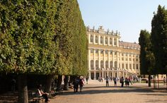 https://flic.kr/p/LJSvPD | Vienna | Schönbrunn Palace, the former imperial summer residence of the Hapsburgs, features 1,414 rooms. In 1569, Holy Roman Emperor Maximilian II purchased a large floodplain of the Wien River beneath a hill where a former owner, in 1548, had erected a mansion called Katterburg. During the next century, the area was used as a hunting and recreation ground. After the death of her husband, Ferdinand II, Eleonora Gonzaga added a palace to the Katterburg mansion…