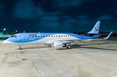 First Embraer 190 delivered to Jetairfly. Overnight in Recife. - Photo taken at Recife - Guararapes (REC / SBRF) in Brazil on February Airline Logo, Aviation News, Air Fighter, Aircraft Pictures, Airplanes, Belgium, Commercial, Birds, Logos