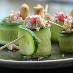 Cucumber Chicken Roll-ups #MyAllrecipes #AllrecipesAllstars