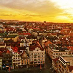 Plzen Czech Republic Panorama #iPad #Wallpaper