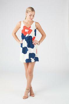 Cooper dress in Organic Flower print - Annie Griffin Spring '14