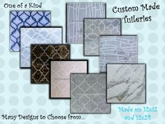 www.rpsic.com  Tuileries Custom Made Order and Do It Tuileries Design!