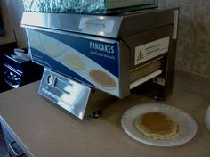 Holiday Inn Express GIbson Pancake machine