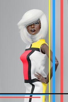 Dolls of Color (JORDAN - colour my world by Intégrité on Flickr....)