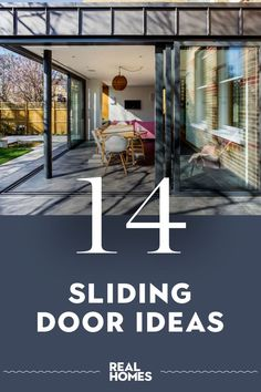 The best sliding door ideas will perfectly connect a patio or extension. Take a look at these inspiring ideas... #slidingdoor #extensionideas #homedesign Exterior Sliding Glass Doors, Internal Sliding Doors, Patio Images, Door Images, Barn Style Doors, Balcony Design, Indoor Outdoor Living, Extension Ideas, House Design