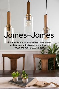 The James+James Story Real Wood Furniture, Dining Furniture, Custom Furniture, Build A Coffee Table, Coffee Tables, Solid Wood Dining Table, Wood Table, Wood Chairs, Square Tables