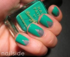 Nailside: 31 Day Challenge, day 4: Green
