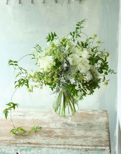 Staff blog: 旬の植物たち perfect tones saved by C beau flowers and bouquets