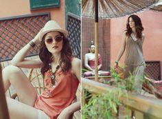 Fashion editoriál: Boheme Chic