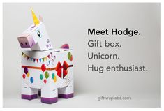 This is Hodge! She's a unicorn gift box who's all about sharing the love. American Academy Of Pediatrics, Melissa & Doug, Unicorn Gifts, Our Kids, Labs, More Fun, Best Gifts, Product Launch, Parenting