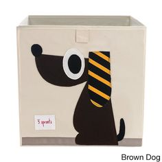 The 3 Sprouts storage box is the perfect organizational tool for any child's room or home office.  Made to fit almost all cubby hole shelving units, this box adds a pop of fun to every room.