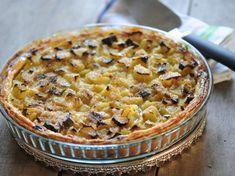 Découvrez la recette Tarte à la rhubarbe et à la vergeoise sur cuisineactuelle.fr.