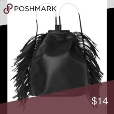 VS BLACK TASSLE BACKPACK BLACK TASSLE BACKPACK NEW & UNUSED Victoria's Secret Bags Backpacks
