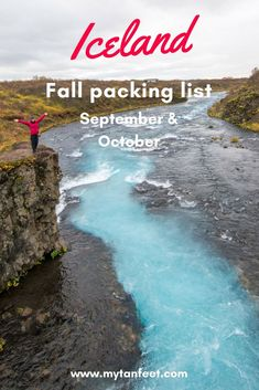 Essential items to pack for Iceland in the fall. Read through to read our personal recommendations: https://mytanfeet.com/iceland/what-to-pack-for-iceland-in-the-fall/ Iceland | Iceland travel tips