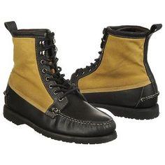 Sebago Kettle Boots (Black/Wax Canvas) - Men's Boots - 12.0 M
