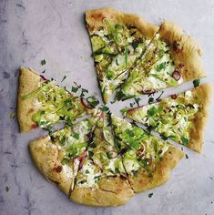 Spring Onion Pizza Recipe