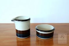 Arabia KAIRA sugar bowl and creamer - FourSeasons.fi