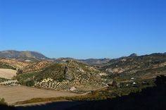 Campagne de la province de Cadix - Andalousie (Espagne)