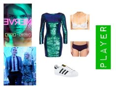 """""""Nerve - Venus"""" by thecaptain101 ❤ liked on Polyvore featuring Club L, adidas, L'Agent By Agent Provocateur and Jockey"""