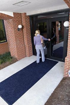 Brush Hog Floor Mat 3' x 6' Burgundy Brush by Andersen. $350.11. The tufted surface is designed to filter dirt and moisture away from the traffic surface to prevent it from entering the building,High performance, 100% solution dyed nylon face won?t fade in sunlight,Flat rubber border allows moisture to run off all sides,Green friendly rubber backing has 20% recycled rubber content,Easy to clean and dries quickly,3' x 5' Burgandy Brush