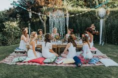 wedding events and wedding events timeline Alternative Hen Do Inspiration For The Bohemian Bride Boho Hen Party, Bohemian Party, Bohemian Bride, Bohemian Weddings, Indian Weddings, Boho Themed Party, Bohemian Birthday Party, Bohemian Style, Vintage Party