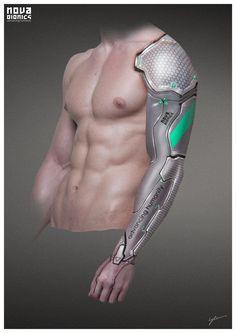 NOVA BIONICS Arm, Georg Löschner on ArtStation at http://www.artstation.com/artwork/nova-bionics-arm-0c4c5060-db15-4a49-9ff1-d07c54ccbd2b