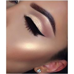 Hottest Eye Makeup Looks Makeup Trends ❤ liked on Polyvore featuring beauty products, makeup and eye makeup