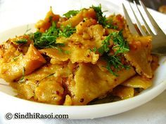 Seyal Phulka (Leftover Rotis in Garlic tomato curry) | Sindhi Rasoi |Sindhi Recipes