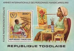 Airmail - International Year of Disabled People, Togo