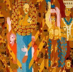Hannah Ryggen En Fri (A Free One), 1947. Tapestry, 1.9 x 2m.