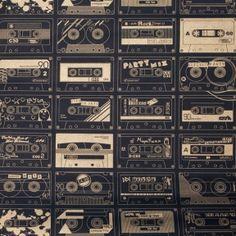 Casette wallpaper