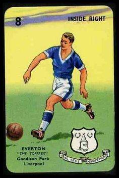 Everton card in 1964-65.