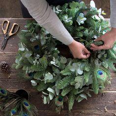 Philippa Craddock DIY Christmas wreath is a craft sensation