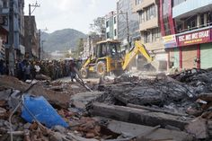 A second powerful earthquake in less than three weeks has spread panic in Nepal, bringing down buildings weakened by the first disaster and killing at least 66 people, including 17 in neighbouring India and one in Chinese Tibet.