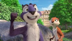 Katherine Heigl and Will Arnett in The Nut Job Nutty by Nature Eva Movie, Nature Movies, The Nut Job, Making A Murderer, Nature Hd, Will Arnett, Who Runs The World, Four Legged, Cringe