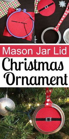 mason jar tips are offered on our internet site. Read more and you wont be sorry you did. Chalk Paint Mason Jars, Painted Mason Jars, Mason Jar Lids, Mason Jar Crafts, Christmas Mason Jars, Christmas Ornaments, Christmas Ideas, Christmas Tree, Diy Ornaments