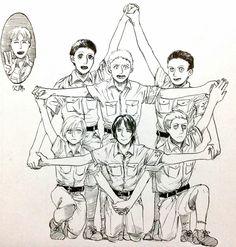 Zeke | Marcel (Berwick) | Annie | Porco Galliard | Pieck | Bertholdt | Reiner | Shingeki no Kyojin | Attack on titan | SNK | Marley