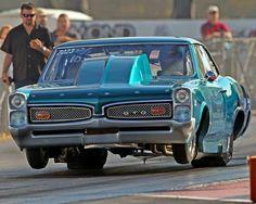 Jimmer Kline's  66 Pontiac GTO Powered by a 622ci Pontiac On Spray with automatic transmission